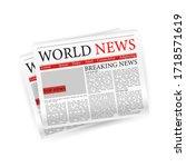 newspaper  great design for any ...   Shutterstock .eps vector #1718571619