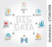 big data info graphic ... | Shutterstock .eps vector #171861008
