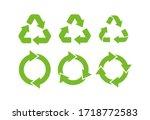 Recycle Icon Symbol Vector....