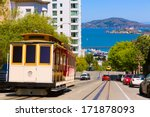 san francisco hyde street cable ... | Shutterstock . vector #171878093