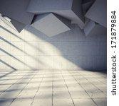 architectural design of modern... | Shutterstock . vector #171879884