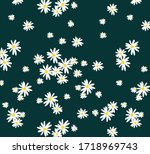 Vector Small Flowers Pattern....