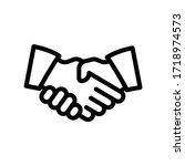 deal or partner agreement ...ol ... | Shutterstock .eps vector #1718974573