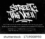 street tag vol 2 is the second... | Shutterstock .eps vector #1719008950