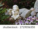 Graveyard Angel In The Cemeter...