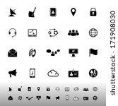 communication icons on white... | Shutterstock .eps vector #171908030
