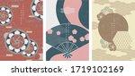 oriental japanese style... | Shutterstock .eps vector #1719102169