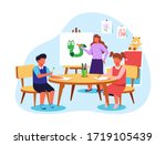 kindergarten illustration as...   Shutterstock .eps vector #1719105439