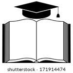 book. icon. vector illustration