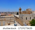 Panoramic View Of The Church Of ...