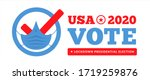 us presidential election in the ...   Shutterstock .eps vector #1719259876