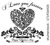 valentine's day vintage...   Shutterstock .eps vector #171926420
