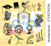 physics  chemistry  astronomy... | Shutterstock .eps vector #1719276196