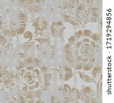 seamless pattern grunge design. ... | Shutterstock .eps vector #1719294856