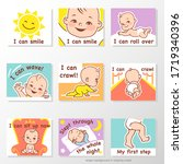 Set Of Stickers With Baby...
