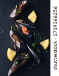 Mussels With Lemon And Parsley...