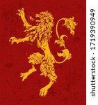 may 01  2020  heraldic symbol... | Shutterstock .eps vector #1719390949