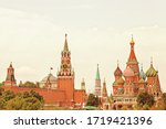 Moscow's Kremlin. View Of The...