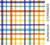 bright seamless tartan pattern  ... | Shutterstock .eps vector #1719506653
