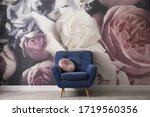Comfortable Armchair Near Wall...