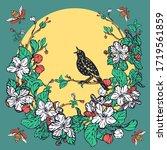 Starling Sings  Wreath Of...