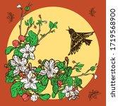 Starling Bird Maybug And...