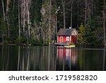 Beautiful Small Cabin In The...