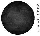 Black Circle Blank Watercolor...