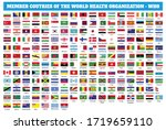 flags of member countries of... | Shutterstock .eps vector #1719659110
