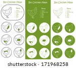 bio poultry meat parts icons...   Shutterstock .eps vector #171968258
