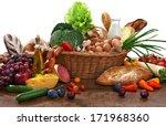 large variety of food   studio... | Shutterstock . vector #171968360