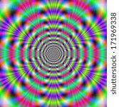 Psychedelic Rings   Digital...
