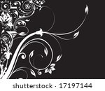 abstract floral background... | Shutterstock .eps vector #17197144