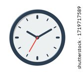 Clock Vector Flat Illustration...