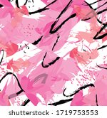 abstract colourful pink... | Shutterstock .eps vector #1719753553