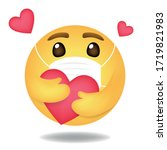 emoji  emoticon vector  round...   Shutterstock .eps vector #1719821983