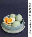 Telur Asin. Homemade Salted...
