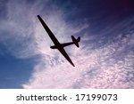 Glider Against A Beautiful Sky...