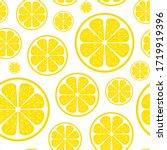 vector seamless lemon pattern....   Shutterstock .eps vector #1719919396