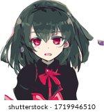 decidedly splendid anime... | Shutterstock .eps vector #1719946510
