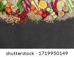 Vegan Health Food Background...