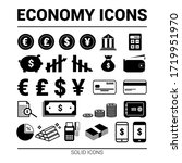 economy and finance icons....   Shutterstock .eps vector #1719951970