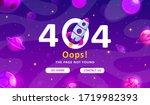 error 404  page not found.... | Shutterstock .eps vector #1719982393