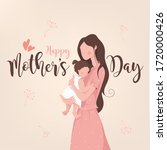 happy mother's day. the love of ... | Shutterstock .eps vector #1720000426