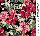 seamless pattern exotic... | Shutterstock .eps vector #1720027060