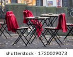 Coffee Table Terrace With Red...