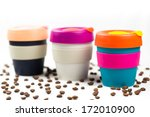 keep cup on white background... | Shutterstock . vector #172010900
