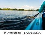 Close Up Of Kayak Paddles....