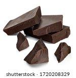 Cracked Or Broken Chocolate...