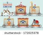 jaula,clásico,colorido,emblema,parque de atracciones,feliz,caballo,rey,león,me,de,manchas,estrellas,el,vagón